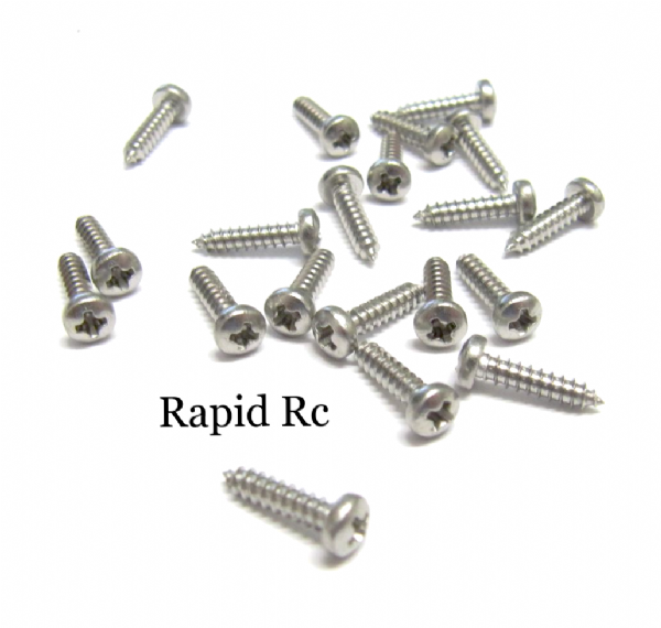 Stainless steel pan Head Phillips Self Tapping screw 2.2mm x 13mm